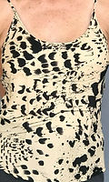 Italian Silk Animal Print Camisole