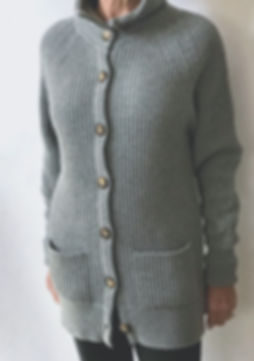 Women's 4 Ply Cashmere Coat Cardigan