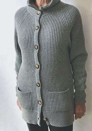 Women's 4 Ply Cashmere Coat Cardigan