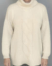 Highest Quality Thick Cashmere Long Pullover