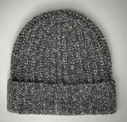 Heavy Knit Cashmere Cap