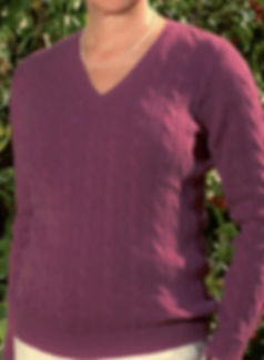 Highest Quality Women's Cashmere Cabled Pullovers