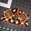 Thumbnail: Orange Tribal Print Mask