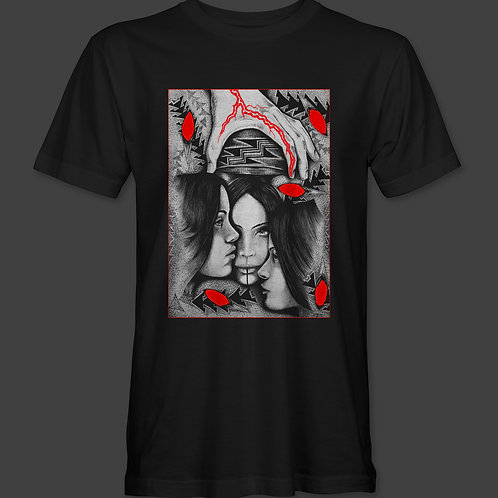 When She Becomes Herself (Adult Tee)