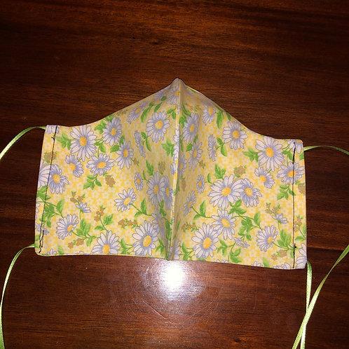 Yellow Flower Mask