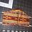 Thumbnail: Orange/Tan Feather Mask