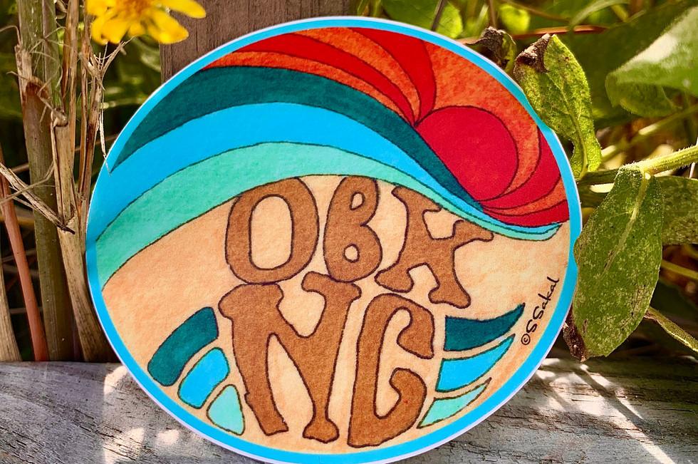 OBX circle logo