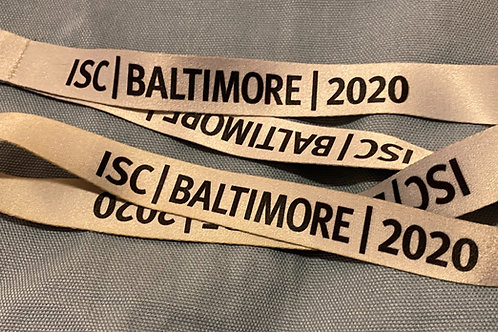 2020 ISC Conference Lanyard