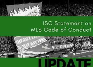 UPDATE: MLS Code of Conduct