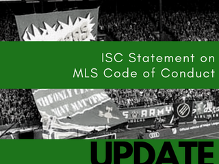 UPDATE: MLS Code of Conduct