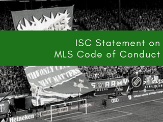 ISC Statement on MLS Code of Conduct