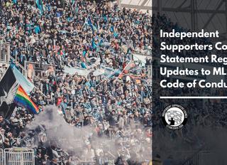 ISC Statement Regarding Updates to MLS Fan Code of Conduct