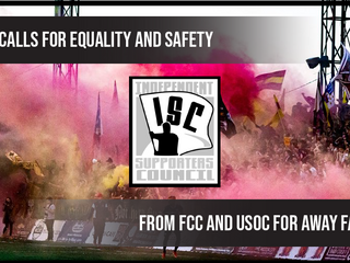 ISC Calls For Equality and Safety From FC Cincinnati and US Open Cup For Away Fans