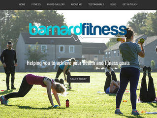 New website for Barnard Fitness