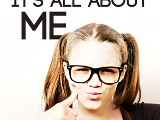Its time to put yourself first…It starts with saying `its all about me`.