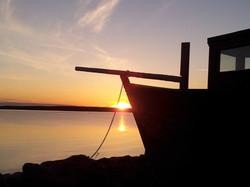 sunset at Captainhouse
