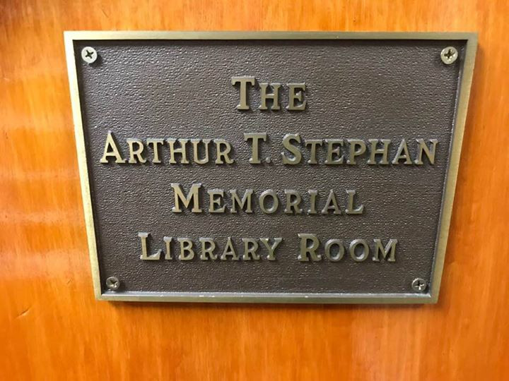 Library Room plaque