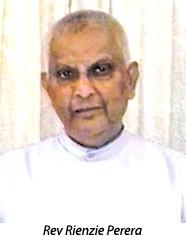 Rev. Dr. Rienzie Perera