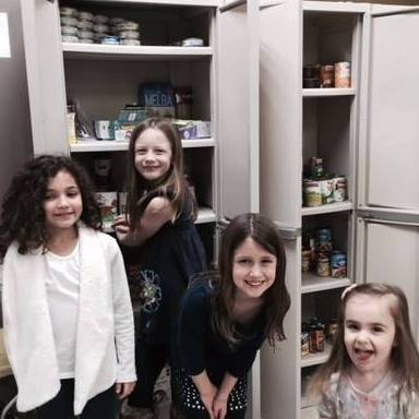 Food pantry cabinets