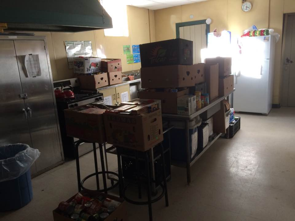 GC Food pantry boxes