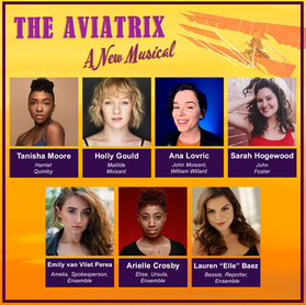 Cast Announced For Virtual Theatre/Film Hybrid Production Of The Aviatrix: A New Musical