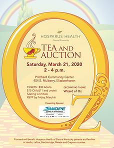 Hosparus Health Tea & Auction - Elizabet