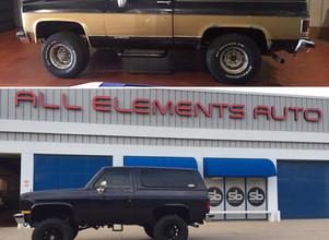 1989 Chevrolet K5 Blazer Restoration