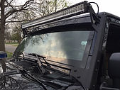 LED light bar jeep rubicon