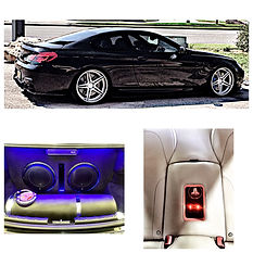 JL Audio 12W6v3, JL Audio HD 1200/, LED light, custom backseat interior