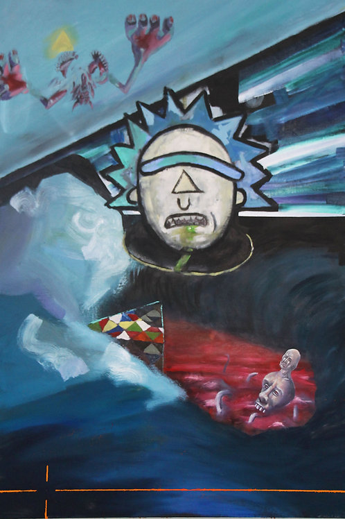 Morty Oil on Canvas