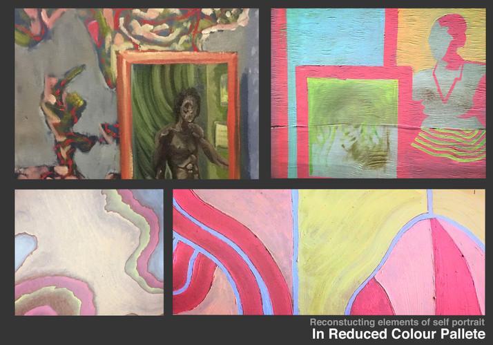 Reduced colour pallete