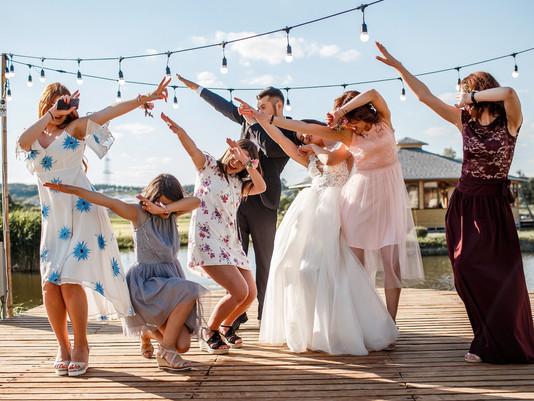 И на расстоянии мы готовимся к свадьбе