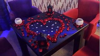Romantik Masa,Evlilik teklifi organizasyonu