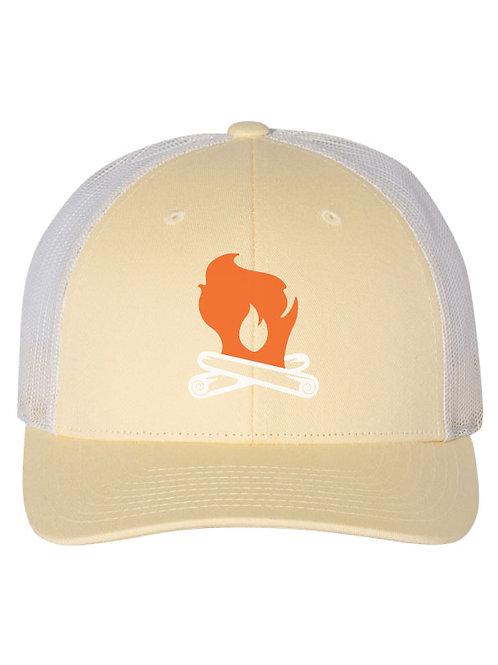 Wisconsin Campfire Mesh Trucker Hat