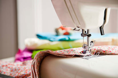 Sewing maching quilting
