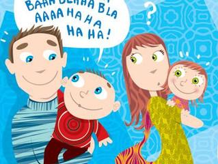 Invitation à une soirée d'information sur le langage à l'intention des parents