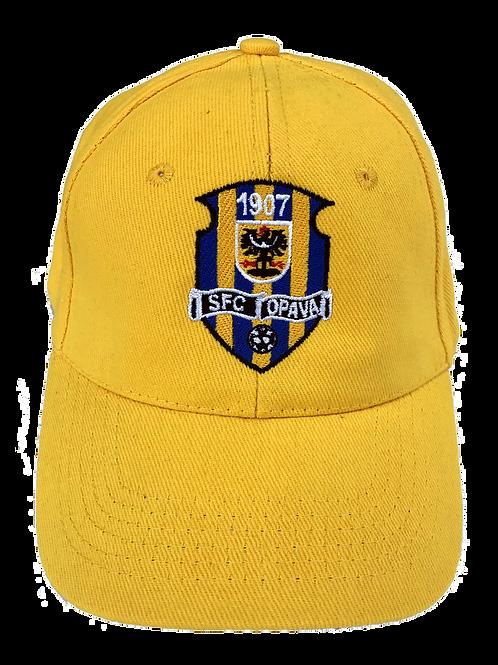 Kšiltovka žlutá s vyšitým znakem SFC