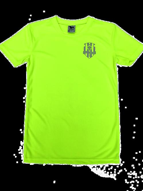 Pánské neonově žluté funkční tričko