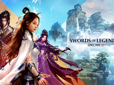 Swords of Legends, The Visually Stunning MMORPG Based on Ancient Chinese Folk Tales Is Now Available