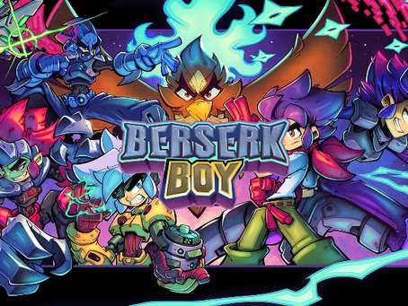 Berserk Boy brings a vibrant blend of retro-inspired action-platforming to PC and consoles in 2022