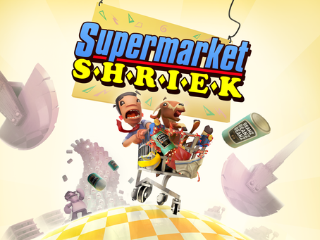 Chaotic Couch Co-op Supermarket Shriek releases on October 23rd 2020!