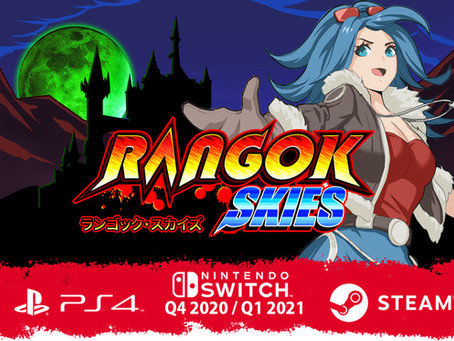 Rangok Skies – retro-styled arcade shmup coming to Switch, PS4, and Steam