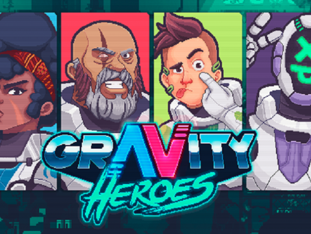 Chaotic 2D Shooter Gravity Heroes isOut Now on Steam!