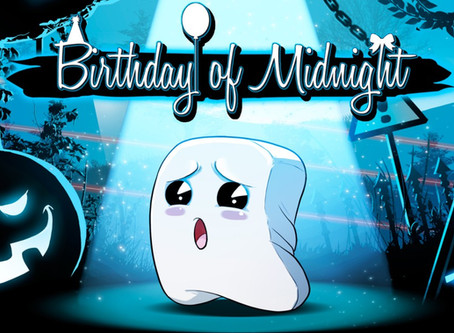 Golf-inspired physics game Birthday of Midnight celebrates console release
