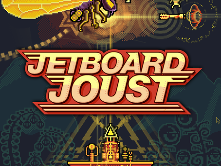 Jetboard Joust Unloads Old-School Action, Alien Invaders into Steam Today