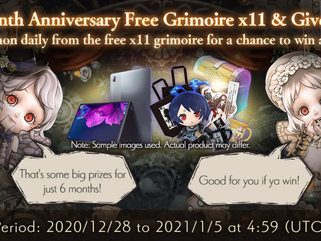 SINoALICE  Global 6-Month Anniversary Brings New Character Class, Celebratory Events