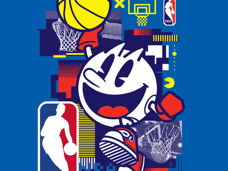 BANDAI NAMCO ENTERTAINMENT INC. AND THE NBA PARTNER CELEBRATING PAC-MAN'S 40th ANNIVERSARY