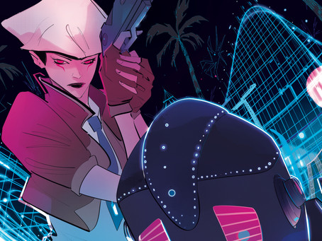 Review: Read Only Memories - Comic Issue #1