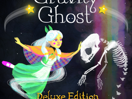 Gravity Ghost: Deluxe Edition Available Now On PS4