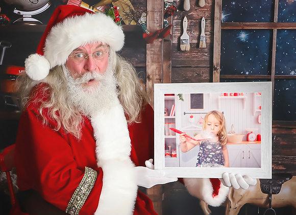 Social Distanced Santas
